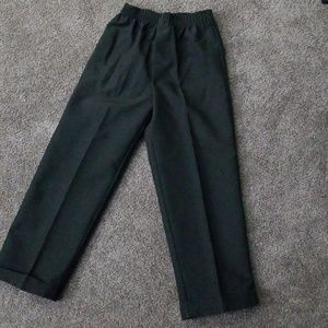 Other - Boys size 5 black dress pants